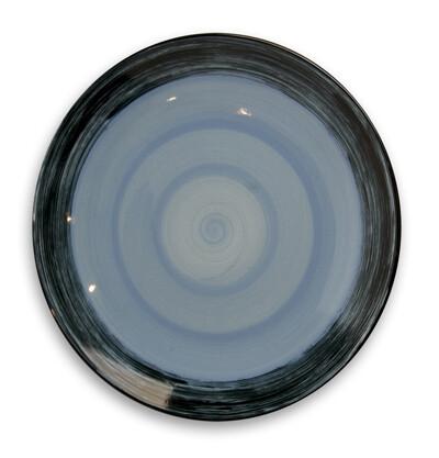 "Simply Gail Blue 11"" Dinner Plate"