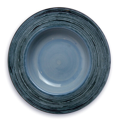 "Simply Gail Blue 8"" Pasta Bowl"