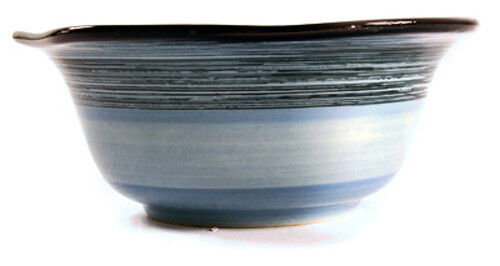 """Simply Gail Blue 6"""" Scalloped Bowl"""