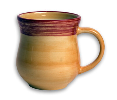 Simply Gail Yellow 12 Ounce Mug