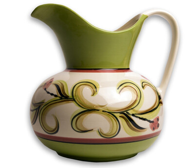 Honeysuckle 2 Quart Pitcher
