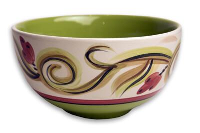 """Honeysuckle 6"""" Soup Cereal Bowl"""