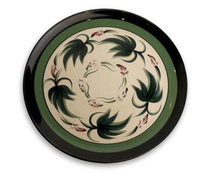 "Grapevine 13"" Round Platter"