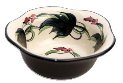 "Grapevine 5"" Large Scalloped Bowl"