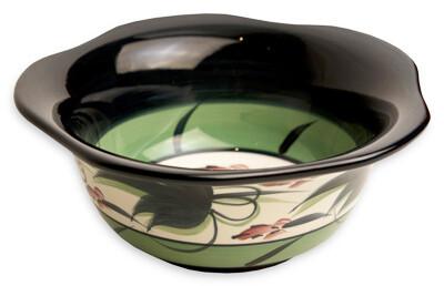"Grapevine 6"" Medium Scalloped Bowl"