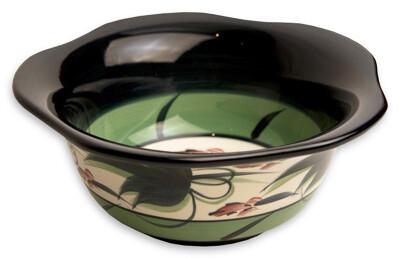 "Grapevine 9"" Large Scalloped Bowl"