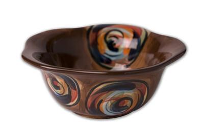 """Chinatown 6"""" Scalloped Bowl"""