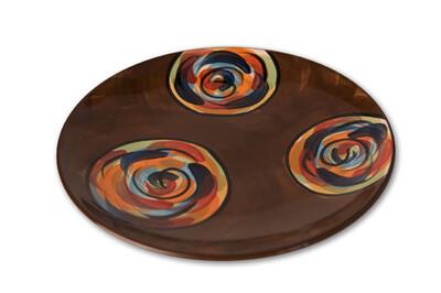 """Chinatown 8"""" Round Salad Dessert Plate"""