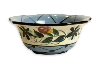 "Annabelle 9"" Scalloped Sauce Bowl"