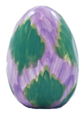 """3"""" Purple Green Easter Egg"""