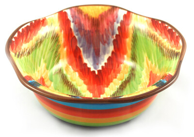 "Endless 9"" Scalloped Bowl"