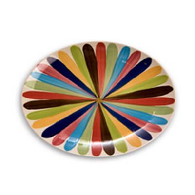 "Tango 16"" Oval Platter"