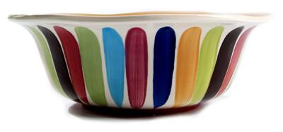"Tango 6"" Scalloped Bowl"