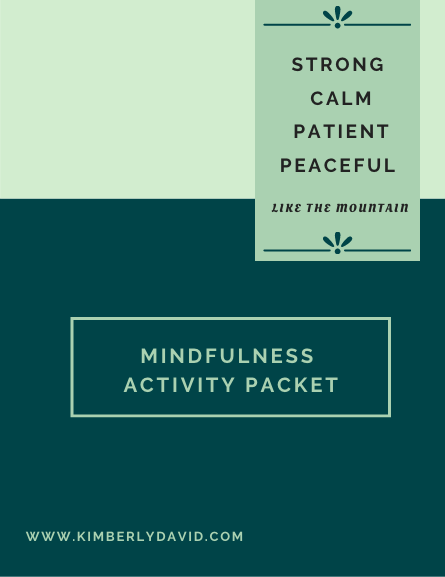 Mindfulness Activity Packet