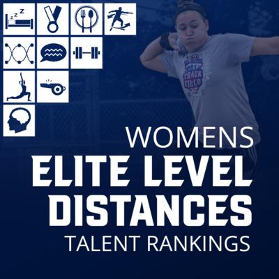 Women's Elite Level Distance Charts