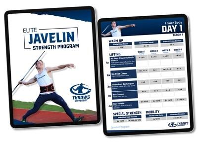 Elite Javelin Strength Program