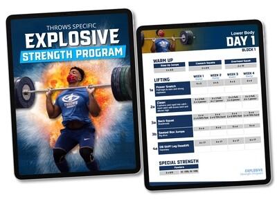 Explosive Strength Program