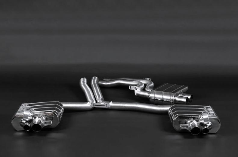 Audi RS5 Capristo Abgasanlage