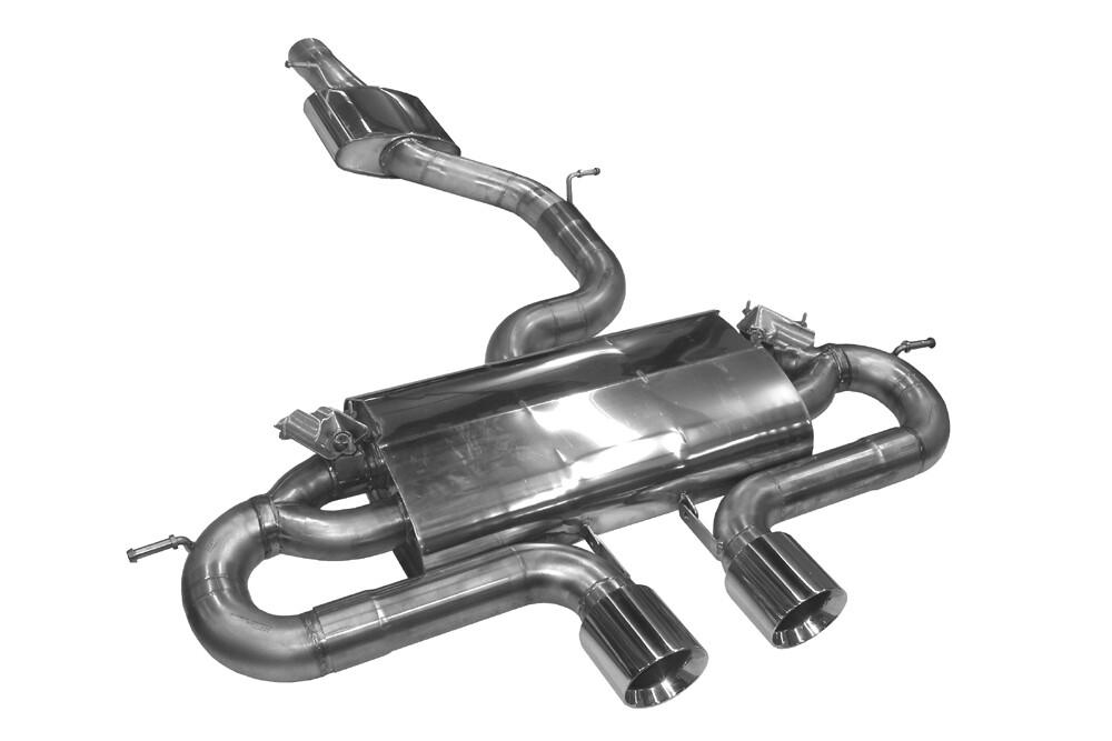 BN-Pipes Abgasanlage Golf 7R - R32 Style