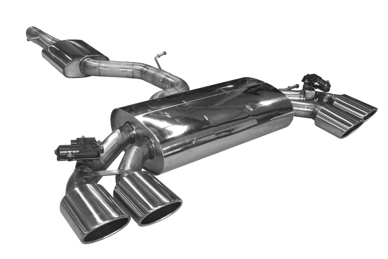 BN-Pipes Abgasanlage Golf 7R