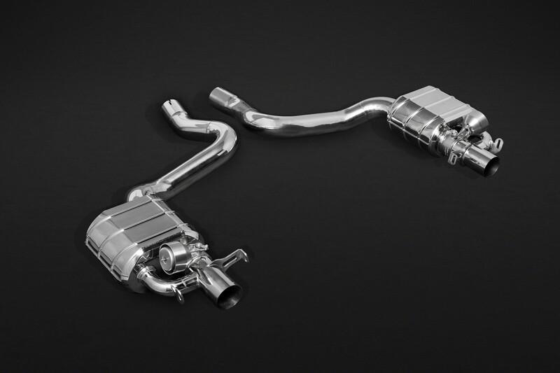 C63 AMG Capristo Abgasanlage