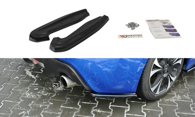 Side Splitters Subaru BRZ Facelift