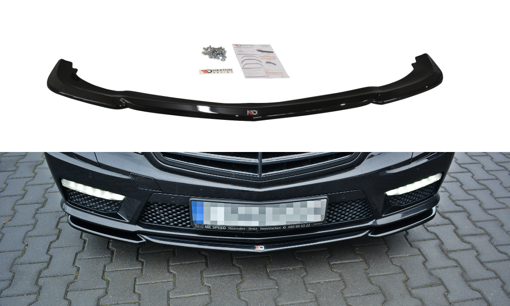 Frontlippe Mercedes E63 AMG W212