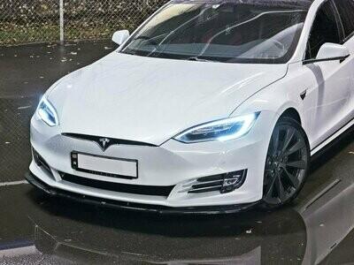 Frontlippe V1 Tesla Model S Facelift