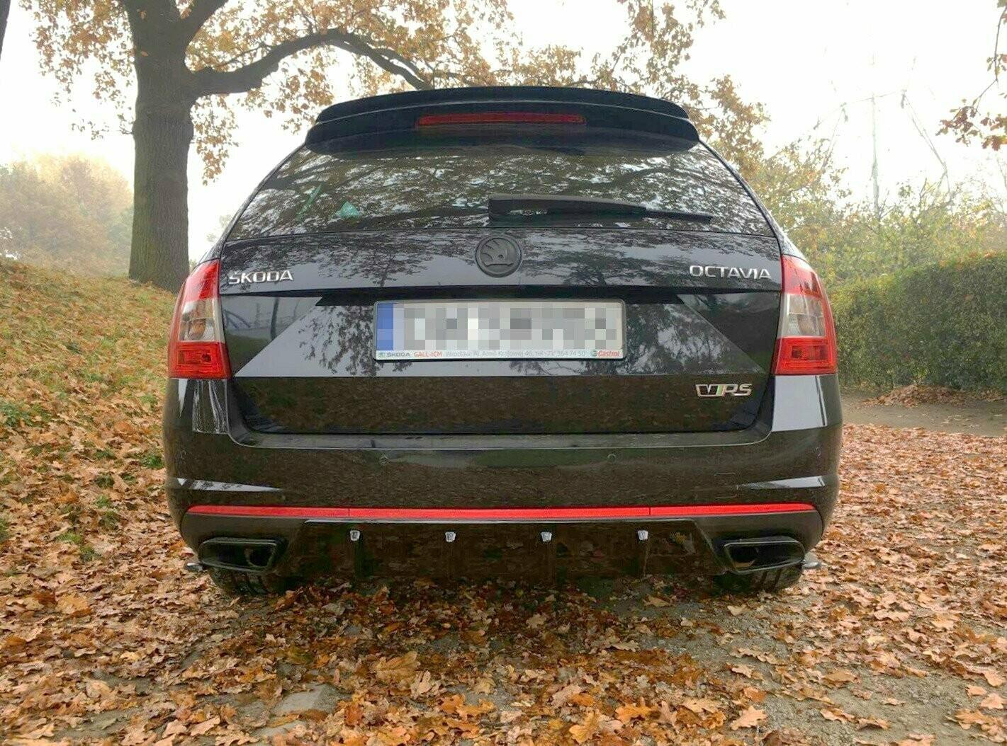 Heckdiffusor V1 Skoda Octavia RS Kombi Vorfacelift/Facelift