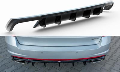Heckdiffusor V2  Skoda Octavia RS Kombi Vorfacelift/Facelift