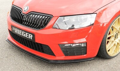 Rieger Frontlippe Octavia RS