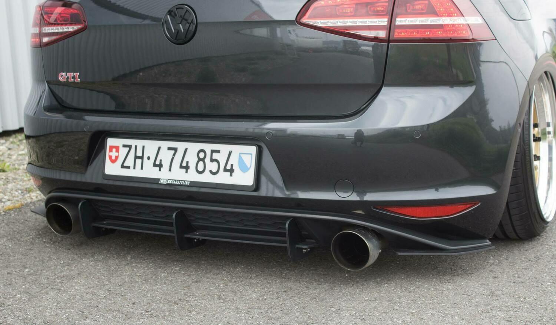Heckdiffusor Golf VII GTI