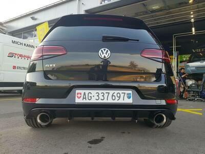 Heckdiffusor VW Golf 7 GTI Facelift