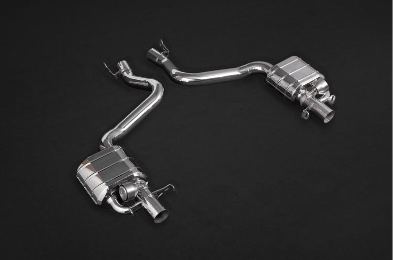 E63 AMG W213 Capristo Abgasanlage