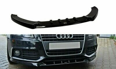 Frontlippe V1 Audi A4 B8 Vorfacelift
