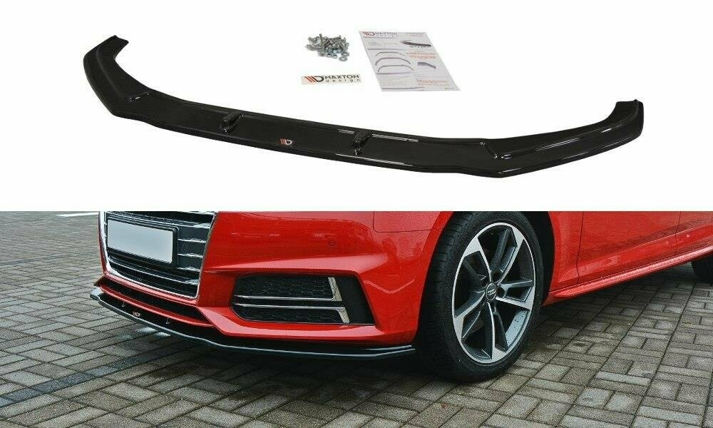 Frontlippe V2 Audi A4 B9 S-Line