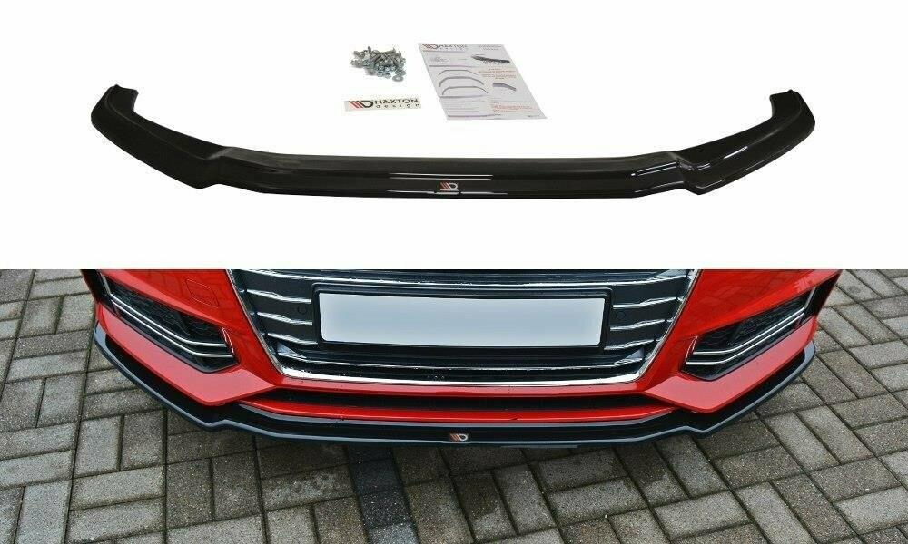 Frontlippe V1 Audi A4 B9 S-Line