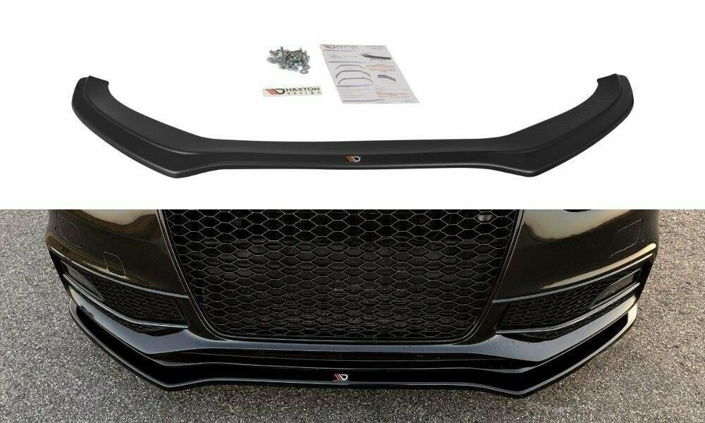 Frontlippe V2 Audi S4 B8 Facelift