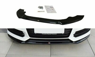 Frontlippe V1 Audi A6 C7 S-line Facelift