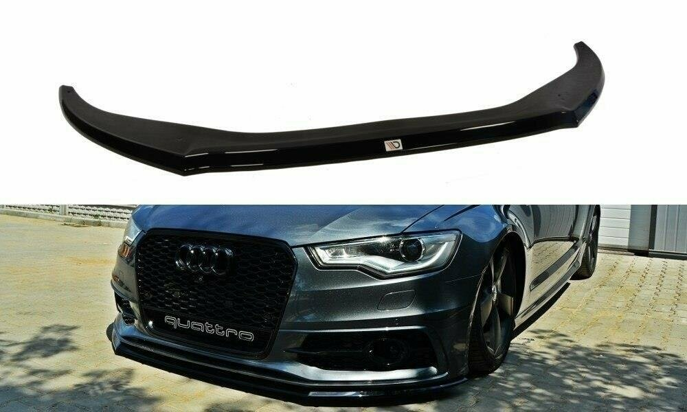 Frontlippe V2 Audi A6 C7 S-Line