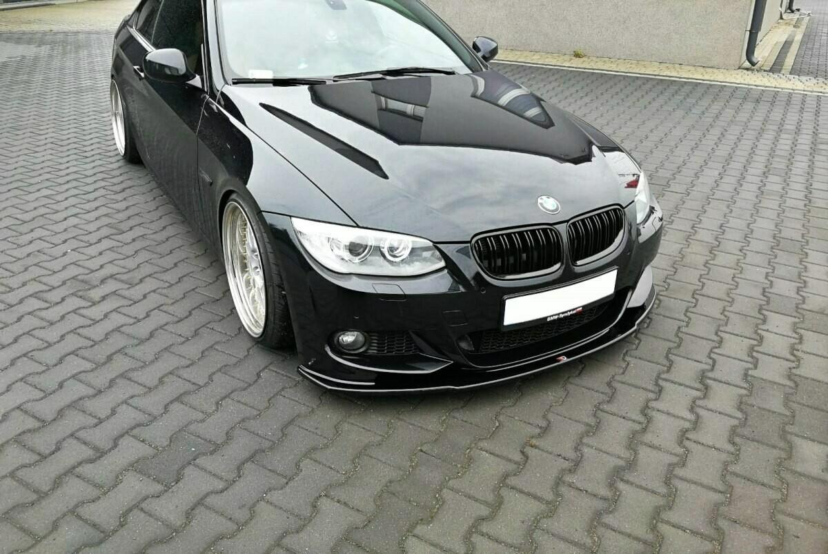 Frontlippe V1 BMW 3er E92 Facelift