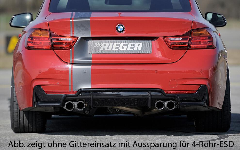 Heckdiffusor BMW F32 Mpaket M4 Look