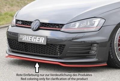 Spoilerschwert Front nur passend für GTI/GTD Frontschürze ABS ohne Lack