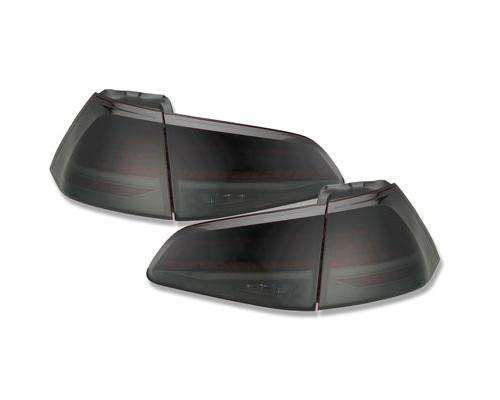 LED Rückleuchten VW Golf 7 VII 13-18 rot/rauch mit dynamischem Blinker