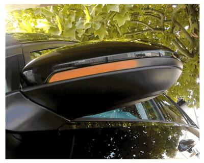 Dynamischer LED Spiegelblinker VW Golf VII Touran 2013+, rauch