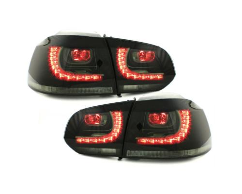 LED Rückleuchten VW Golf 6 VI 08-13 rauch