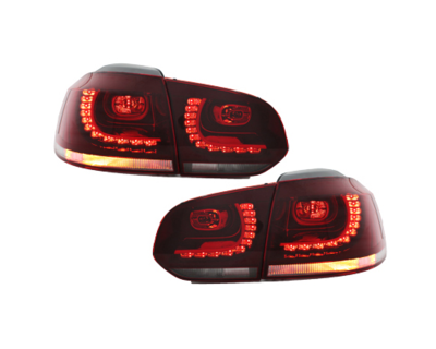 LED Rückleuchten VW Golf 6 VI 08-13 rot/klar
