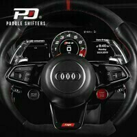 PD LEYO Motorsport Schaltwippen Shift Paddles- Audi RS3/RS4/RS5/R8/TTRS Clear