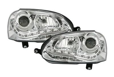 VW Golf 5 - LED Scheinwerfer