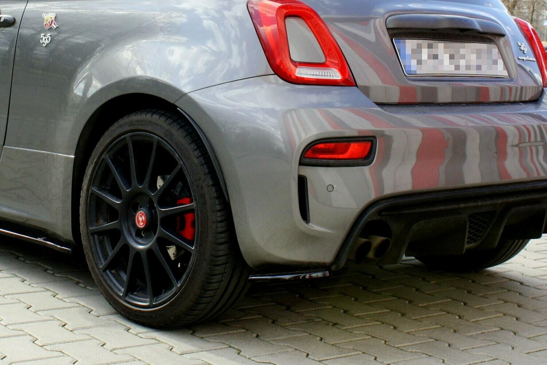 Side Splitters Fiat 500 Abarth Facelift
